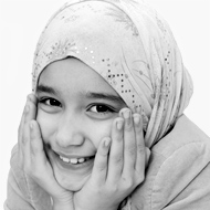 Photo of a girl with a Hijab (Source: Canstock 1843)