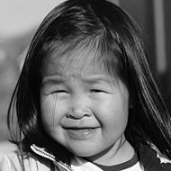 Photo of a young Inuit girl