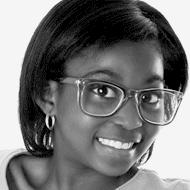 Photo d'une jeune adolescente noire